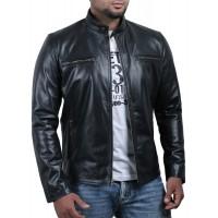 Laverapelle Men's Genuine Cowhide Leather Jacket (Racer Jacket) - 1501638