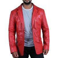 Laverapelle Men's Genuine Lambskin Leather Jacket (Officer Jacket) - 1501642