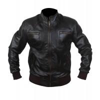 Laverapelle Men's Genuine Lambskin Leather Jacket (Bomber Jacket) - 1501789