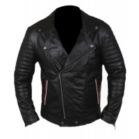 Laverapelle Men's Synthetic Leather Jacket (Double Rider Jacket) - 1501776