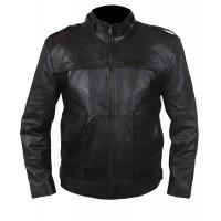 Laverapelle Men's Genuine Lambskin Leather Jacket (Officer Jacket) - 1501790