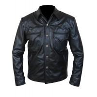 Laverapelle Men's Genuine Lambskin Leather Jacket (Field Jacket) - 1501806