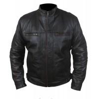 Laverapelle Men's Genuine Lambskin Leather Jacket (Racer Jacket) - 1501791