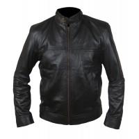 Laverapelle Men's Genuine Lambskin Leather Jacket (Racer Jacket) - 1501787