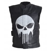 Laverapelle Men's Synthetic Leather Waist (Biker Vest) - 1703010