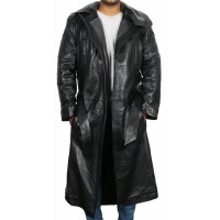 Laverapelle Men's Genuine Lambskin Leather Coat (Parka Coat) - 1702044