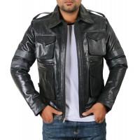 Laverapelle Men's Genuine Lambskin Leather Jacket (Regal Jacket) - 1701049