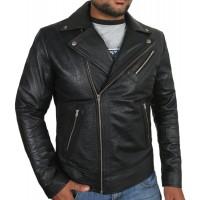 Laverapelle Men's Genuine Lambskin Leather Jacket (Double Rider Jacket) - 1701055