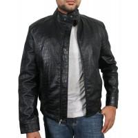 Laverapelle Men's Genuine Lambskin Leather Jacket (Racer Jacket) - 1701058