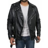 Laverapelle Men's Genuine Lambskin Leather Jacket (Double Rider Jacket) - 1701061