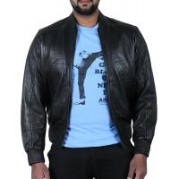 Laverapelle Men's Genuine Lambskin Leather Jacket (Bomber Jacket) - 1701067
