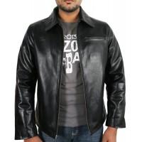 Laverapelle Men's Genuine Lambskin Leather Jacket (Aviator Jacket) - 1801003