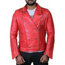 Laverapelle Men's Genuine Lambskin Leather Jacket (Double Rider Jacket) - 1801012