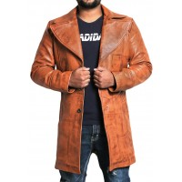 Laverapelle Men's Genuine Lambskin Leather Coat (Blazer Coat) - 1802004