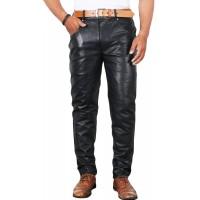 Laverapelle Men's Genuine Lambskin Leather Pant () - 1804001