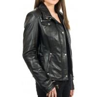 Laverapelle Women's Genuine Lambskin Leather Jacket (fencing Jacket) - 1821051