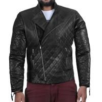 Laverapelle Men's Black Genuine Lambskin Leather Jacket  - 2001001