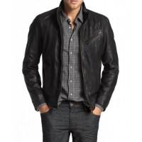 Laverapelle Men's Genuine Lambskin Leather Jacket (Racer Jacket) - 2001003