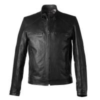 Laverapelle Men's Genuine Lambskin Leather Jacket (Racer Jacket) - 1501812