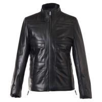 Laverapelle Men's Genuine Lambskin Leather Jacket (Field Jacket) - 1501822