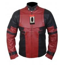 Laverapelle Men's Deadpool Ryan Reynolds Genuine Leather Jacket (Fencing Jacket) - 1501847