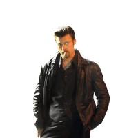 Laverapelle Men's Killing Them Softly Brad Pitt Sheep Leather Jacket (Blazer Jacket) - 1501809
