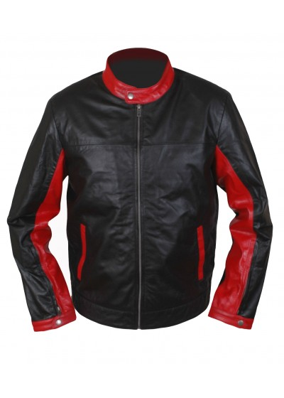 Laverapelle Men's BATMAN DARK KNIGHT Christian Bale Lambskin Leather Jacket 1510777