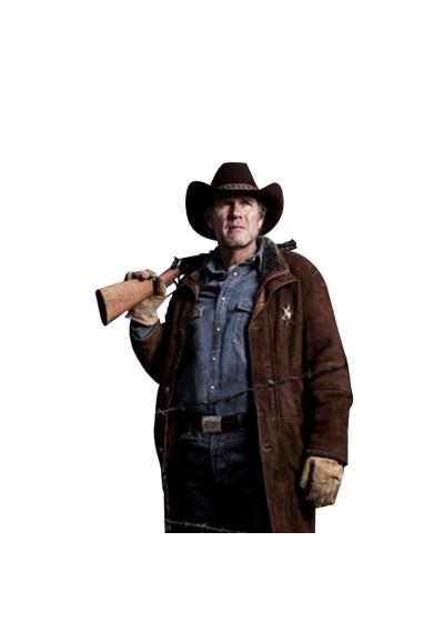 Laverapelle Men's SHERIFF WALT (ROBERT TAYLOR) COW SUEDE LEATHER COAT - 1510774