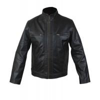 Laverapelle Men's Rock Star/Motorbike Fashion Genuine Leather Jacket (Racer Jacket) - 1501805