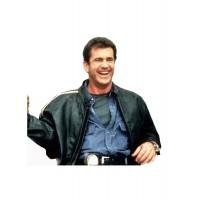 Laverapelle Men's Lethal Weapon 4 Mel Gibson Geniune Leather Jacket - 1510794