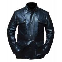 Laverapelle Men's Will Smith I Am Legend Geniune Leather Jacket - 1510775