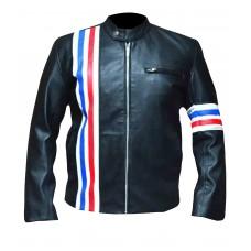 Laverapelle Men's Easy Rider Peter Fonda Genuine Cow Leather Biker Jacket (Racer Jacket) - 1501800