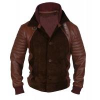 Laverapelle Men's Horns Daniel Radcliffe IG Perrish Geniune Leather Jacket (Fencing Jacket) - 1501766