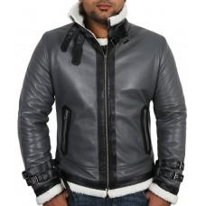 Laverapelle Men's Black Genuine Lambskin Leather jacket  - 1710031