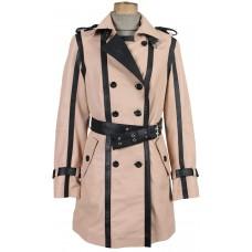 Laverapelle Women's Black Genuine Lambskin Leather coat  - 1710036