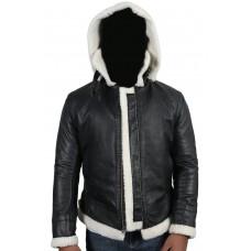 Laverapelle Men's Black Genuine Lambskin Leather jacket  - 1710043