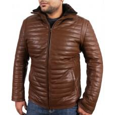 Laverapelle Men's Black Genuine Lambskin Leather jacket  - 1710046