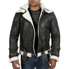 Laverapelle Men's Black Genuine Cowhide Leather jacket  - 1710069