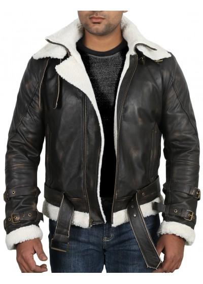 Laverapelle Men's Black Genuine Cowhide Leather jacket  - 1710069