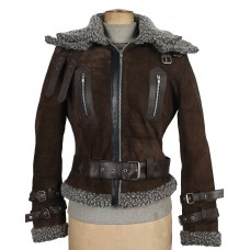 Laverapelle Women's Black Genuine Cowhide Leather jacket  - 1710070