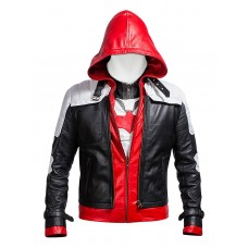 Laverapelle Batman Arkham Knight Red Hood high quality faux leather Men JACKET + VEST