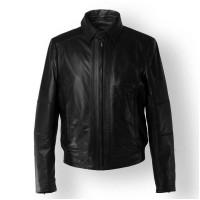 Laverapelle Men's Genuine Lambskin Leather Jacket (Aviator Jacket) - 1501820