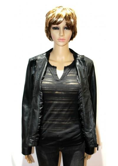 Laverapelle Women's Genuine Lambskin Leather Jackets - 1510754