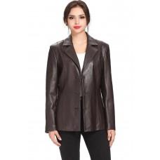 Laverapelle Women's Genuine Lambskin Leather Coat - 1510656