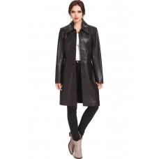 Laverapelle Women's Genuine Lambskin Leather Coat - 1510680