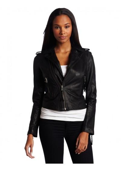 Laverapelle Women's Genuine Lambskin Leather Jackets - 1510764