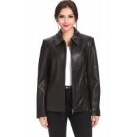 Laverapelle Women's Genuine Lambskin Leather Coat - 1510760