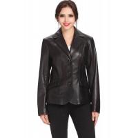 Laverapelle Women's Genuine Lambskin Leather Jackets - 1510762