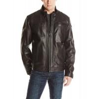 Laverapelle Men's Genuine Lambskin Leather Jacket (Racer Jacket) - 1501529