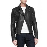 Laverapelle Men's Genuine Cowhide Leather Jacket (Double Rider Jacket) - 1501612